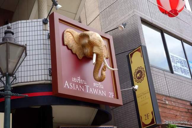 2013/07/15:アジアンタワン 神楽坂店:外観:5892