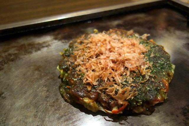 2014/12/20:関西風お好み焼き 松ざき:一人ディナー:6445